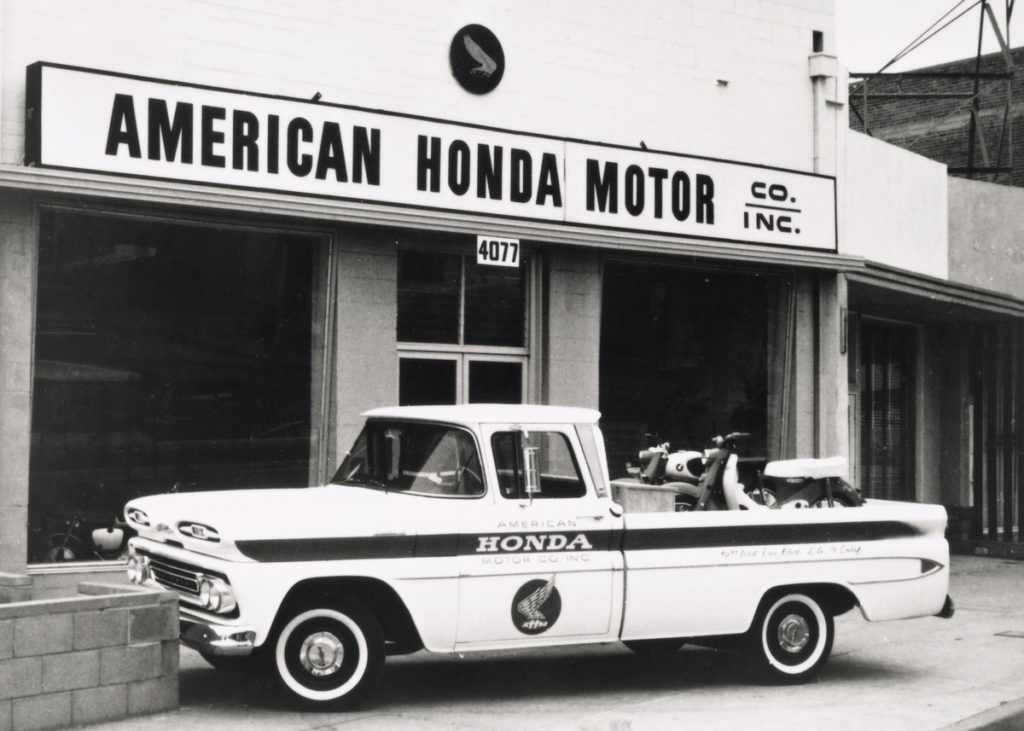 Chevy delivery pickup truck for American Honda