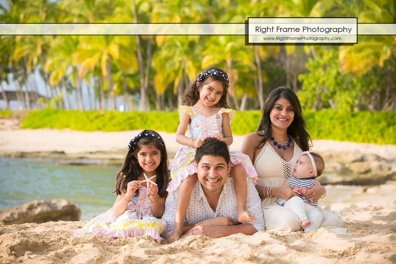 Family Photographer in Ko Olina Oahu Hawaii by RIGHT FRAME