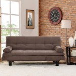 Adelaide Convertible Sofa By Lifestyle Solutions Java Right Futons Waterbeds