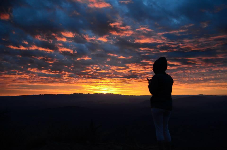 Sunrise from the rim