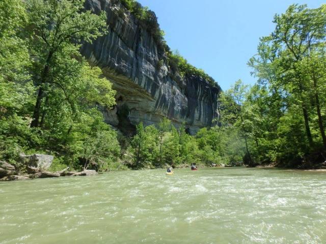 Kayaking on the Buffalo National River