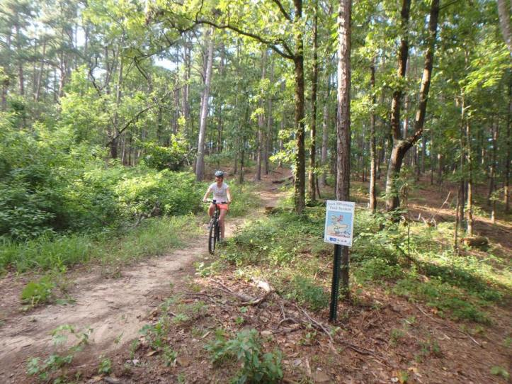 Mountain Biking The White Zone on the Iron Mountain Trail System