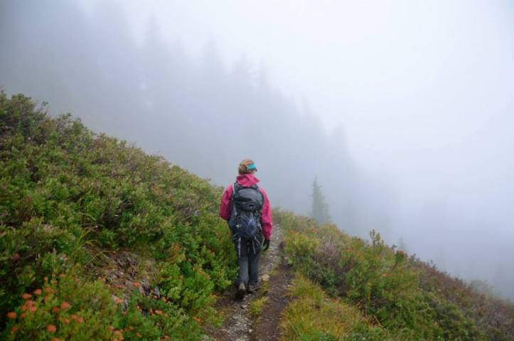 How to enjoy hiking in the rain, because you don't want to let a little bit of bad weather keep you from enjoying all that has to offer.