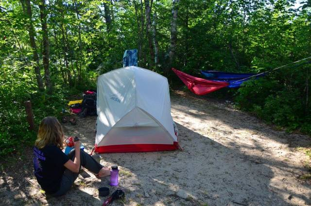 Why I chose the MSR Hubba Hubba NX and love it. It is a great backpacking tent. It's light weight, roomy, and durable.