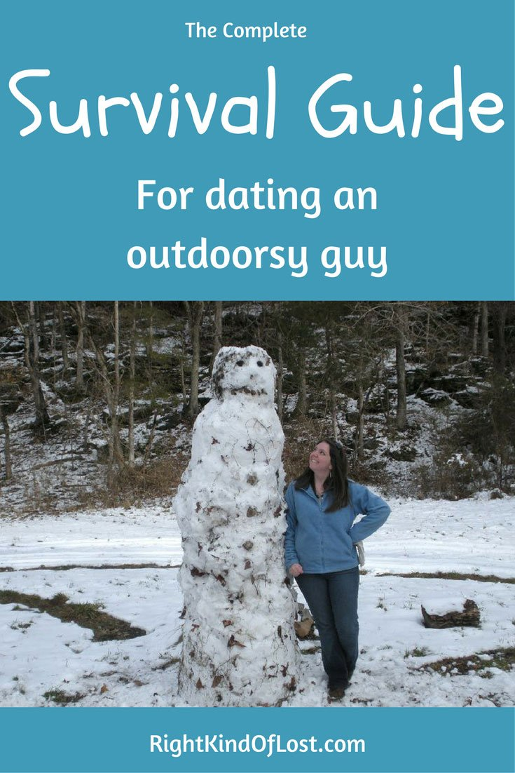 Dating an outdoorsy guy