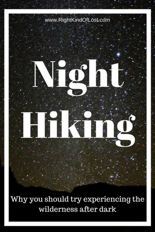 Have you been night hiking? Don't let the shorter days keep you from hiking.