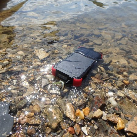 OUTXE Savage Rugged Power Bank Review. This rugged and tough charger will power your phone as well as recharging itself using solar power.