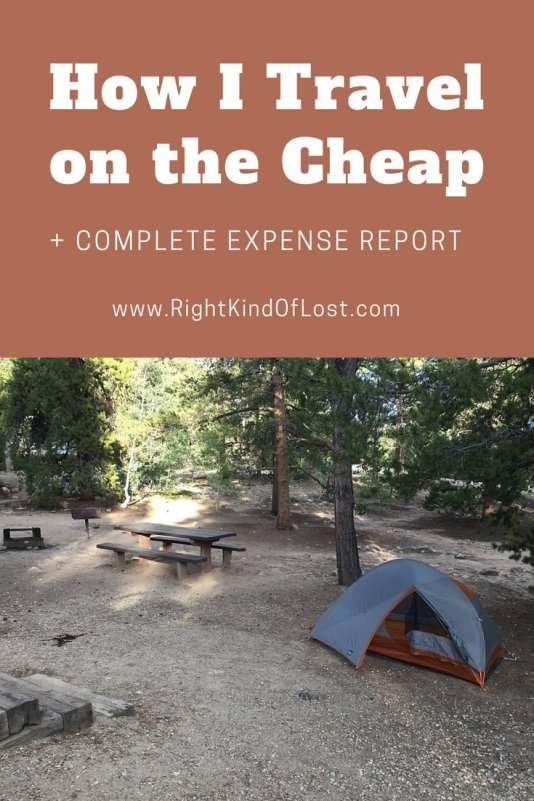 How I travel on the cheap – my expense report from an eight-day trip to Wyoming and Colorado.