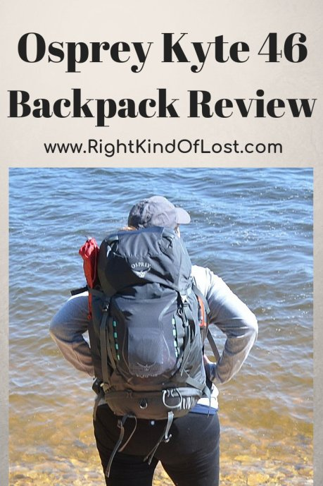 Osprey Kyte 46 gear review. A great lightweight backpack for the weekend backpacking trip.