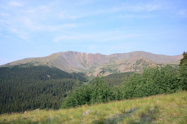 Hiking the South Mount Elbert Trail – the highest peak in the Rocky Mountains at 14,433.