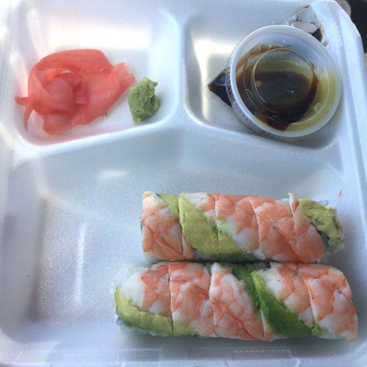 Sushi is shown along the Texas Bluebonnet Trail in Ennis, Texas