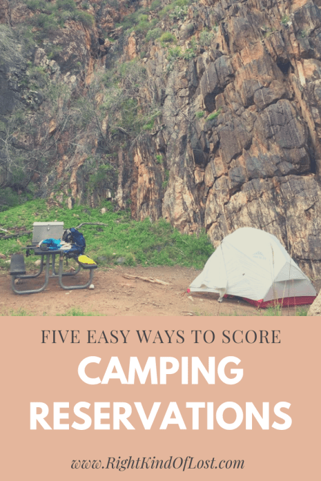 Five easy ways to ensure you can score top-notch camping reservations for popular spots when playing the reservation race game.