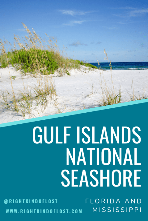 Gulf Islands National Seashore in Florida and Mississippi is a wonderful alternative or addition to visiting the beach for your summer vacation.
