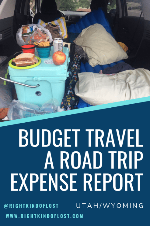 Budget travel – An expense report of my road trip through Utah and Wyoming, visiting numerous national parks and other amazing places along the way.