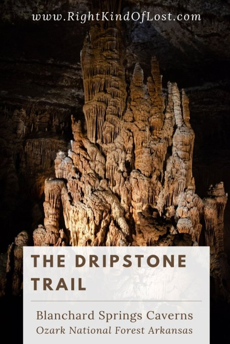 Exploring the Dripstone Trail at Blanchard Springs Caverns, Ozark National Forest, Arkansas