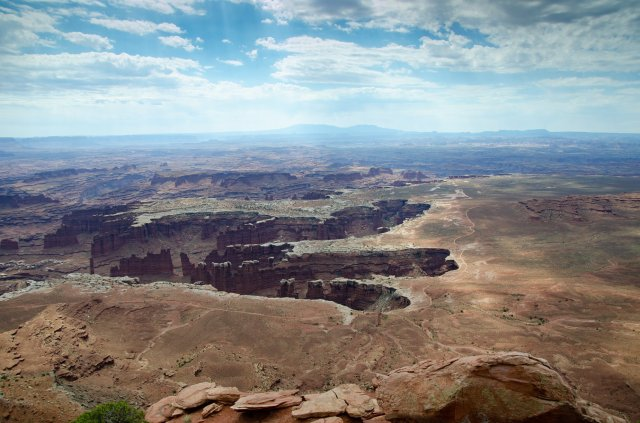 Canyonlands National Park is shown along the road trip for Utah's Mighty Five