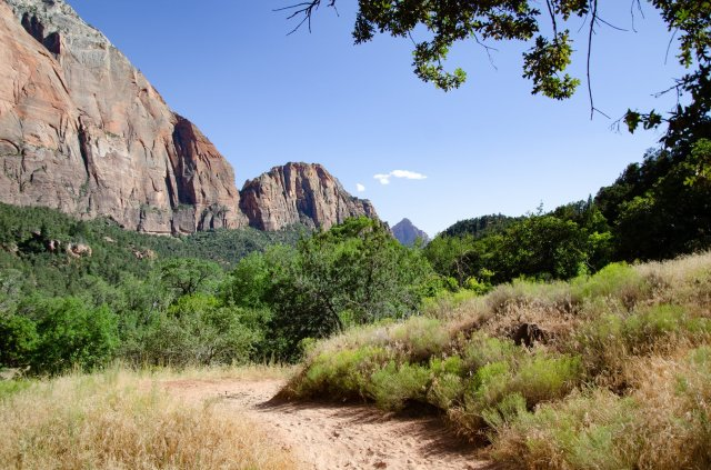 Zion National Park is shown along the road trip for Utah's Mighty Five