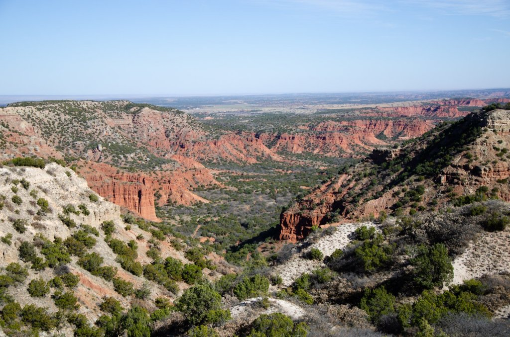 Hiking at Caprock Canyons State Park in the Texas Panhandle