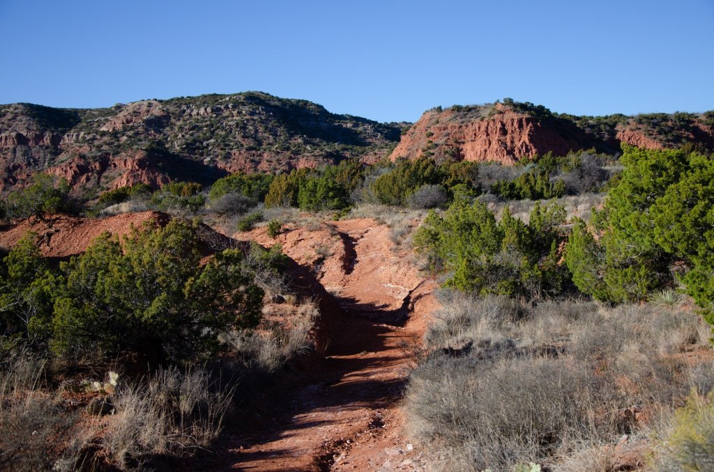 Hiking at Caprock Canyons State Park
