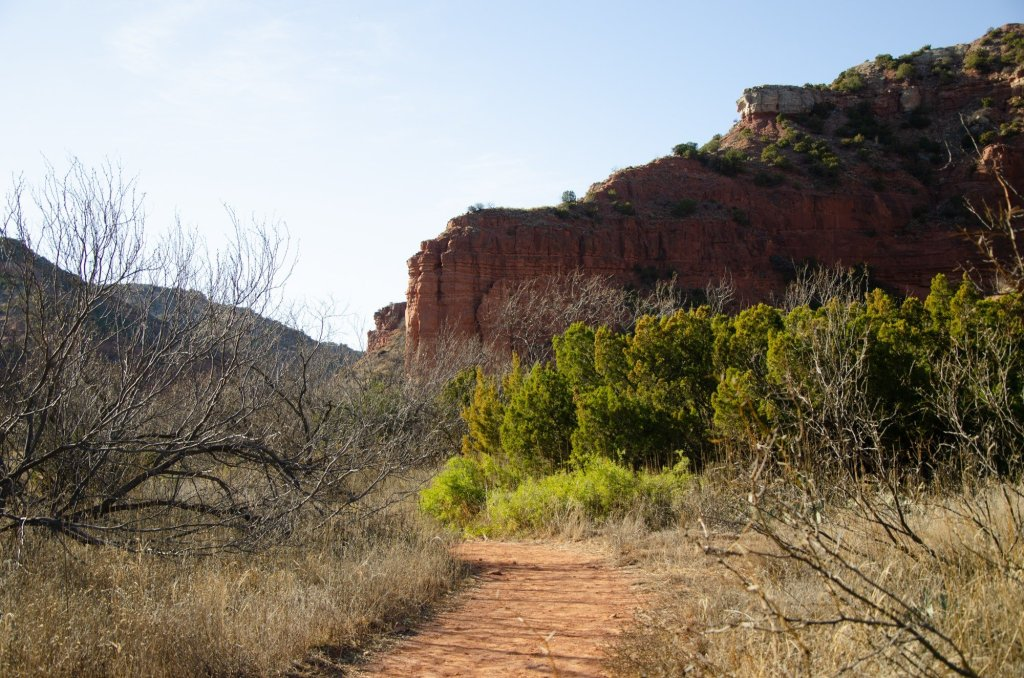 Caprock Canyons hiking trail