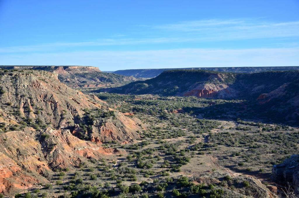 Palo Duro Canyon is shown