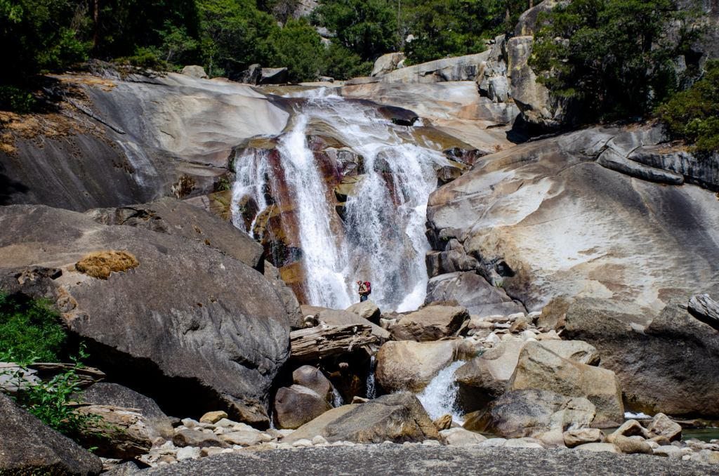 Mist Falls is shown at Kings Canyon National Park