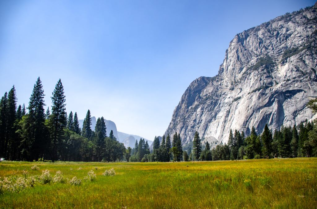 Yosemite Valley is shown
