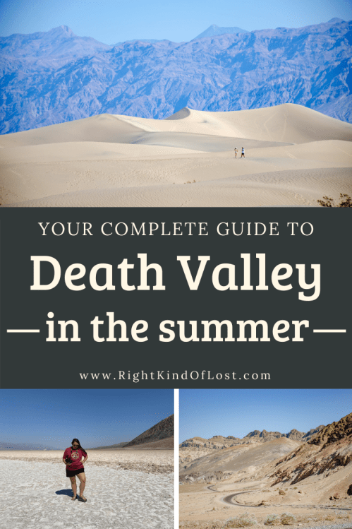 Visiting Death Valley in the summer months may be hot, but don't write it off. It may not be ideal, but there is still plenty to do and see.
