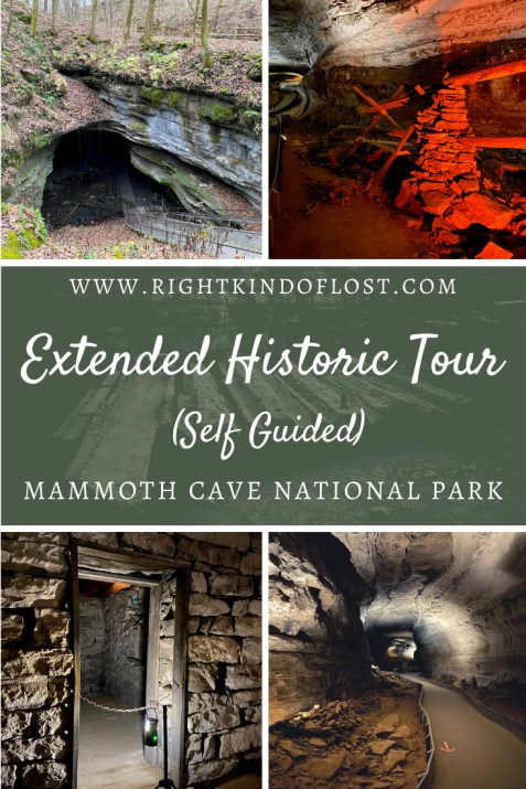 The Extended Historic Tour (Self Guided) Mammoth Cave National Park is a wonderful way to explore the cave while breathing in history.