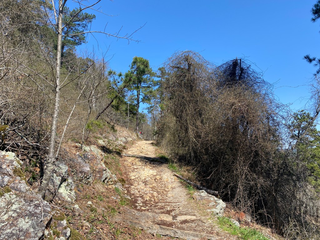 The Goat Rock Trail is shown