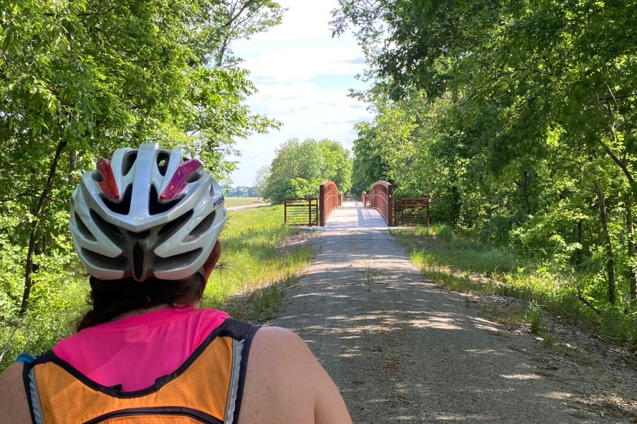 Biking from Watson to Rohwer on the Delta Heritage Trail