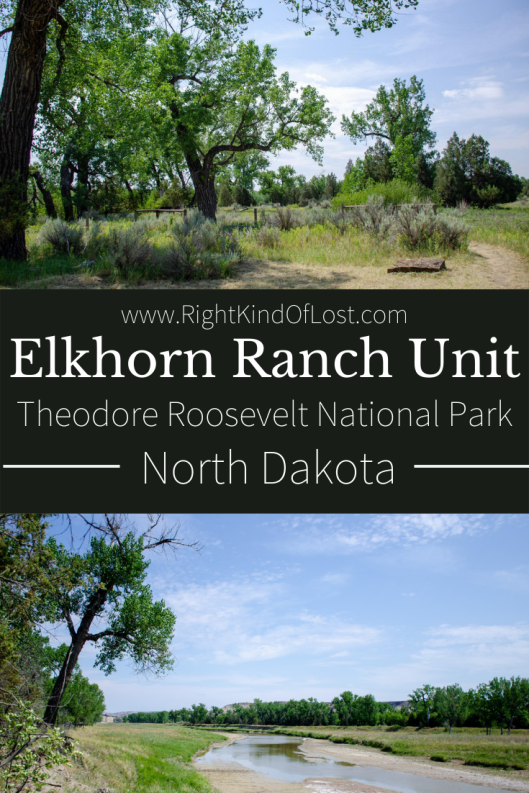 The Elkhorn Ranch Unit of Theodore Roosevelt National Park might be off the beaten path, but it's well worth the drive to step into the past. I really enjoyed walking where Roosevelt once walked and envisioned a future. But I also really enjoyed driving through and exploring the dirt roads of the North Dakota prairies.