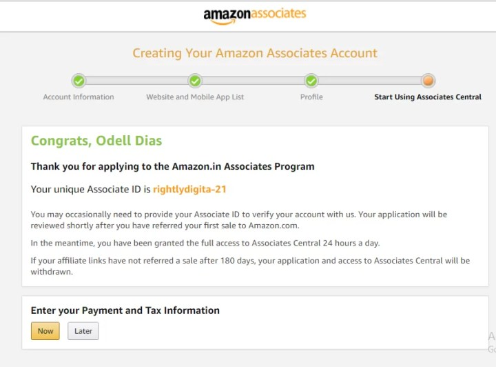 Amazon Affiliate Rightly Digital