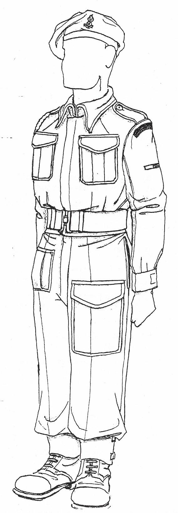RA Dress Regulations 1943 – 1945