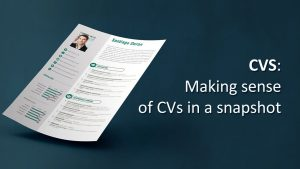 CVS system for simple resumes