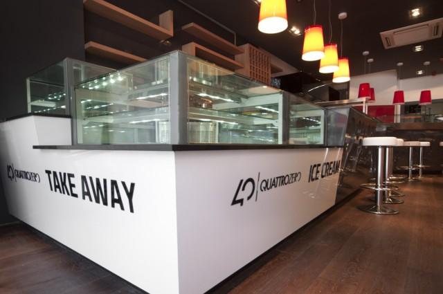 Interior Design Quattrozero Restaurant Edinburgh