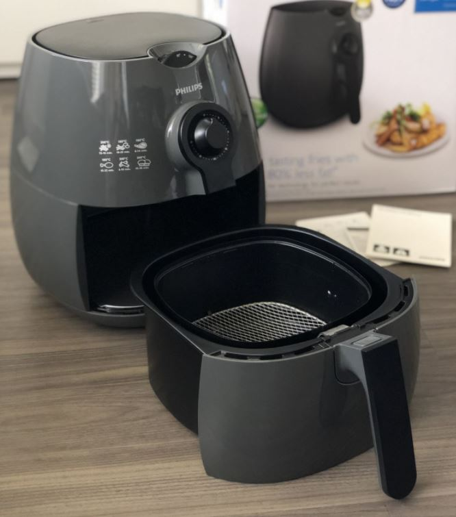 Picture displaying a Basket type Air fryer