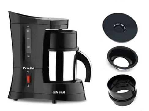 Click here to buy now or View Preethi cafe zest CM210 drip coffee machine on Amazon.in