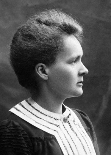 A picture of madame Curie