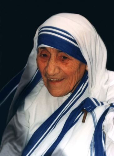 Picture of Mother Teresa.