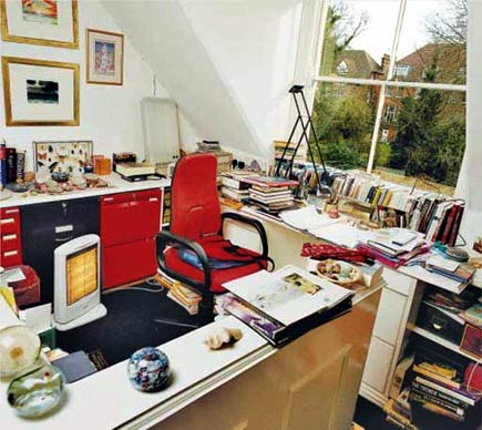 as byatt's writing room