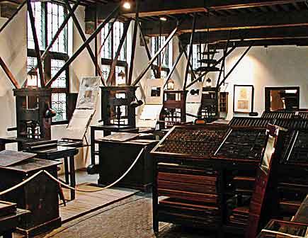 the plantin museum, antwerp, belgium