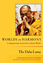 dalai lama, worlds in harmony