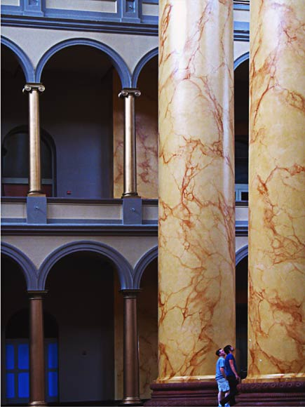 building museum columns