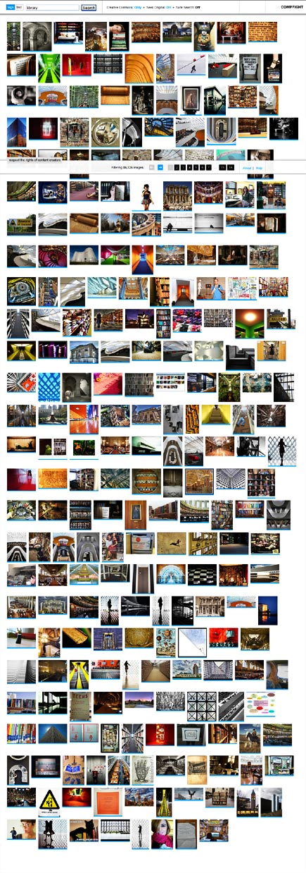 compfight flickr image search