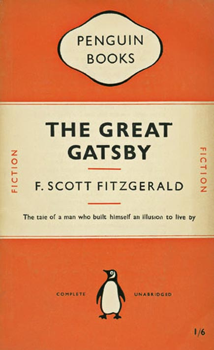 jan tschichold's cover design for the great catsby