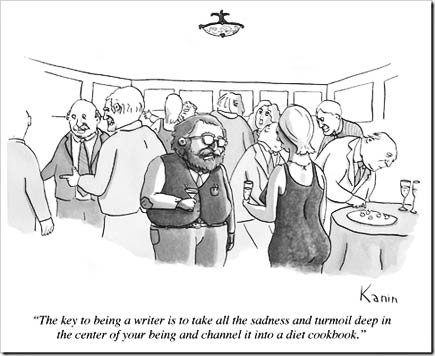 key to being a writer