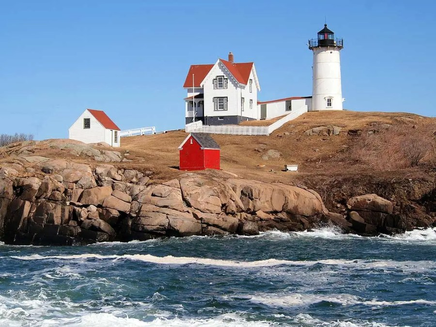 Nubble Lighthouse, York, Maine.