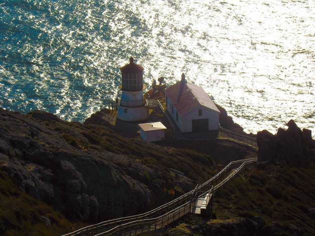 Point Reyes Station lighthouse, Marin County, CA.