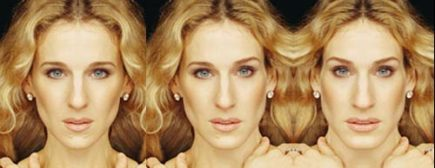 sarah jessica parker, left - right